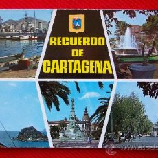 Postales: CARTAGENA - VARIAS VISTAS. Lote 11683419