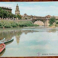 Postales: ANTIGUA FOTO POSTAL DE MURCIA - RIO SEGURA, PUENTE VIEJO - ED. GARCIA GARRABELLA - NO CIRCULADA.. Lote 11732043