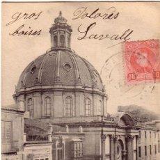 Postales: Nº 17838 POSTAL CARTAGENA SIN DIVIDIR HAUSER Y MENET. Lote 24490353