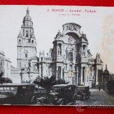 Cartoline: MURCIA - CATEDRAL - ANIMADA. Lote 11789249