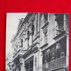 Cartes Postales: MURCIA - FACHADA DEL CASINO - ANIMADA - LA MODERNISTA REPOSTERIA. Lote 11789393