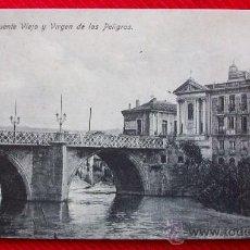 Postales - MURCIA - PUENTE VIEJO Y VIRGEN DE LOS PELIGROS - 11790007