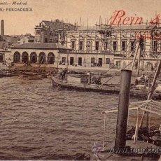 Postales: Nº 17945 POSTAL CARTAGENA PESCADERIA SIN DIVIDIR HAUSER Y MENET BARCO. Lote 11857041