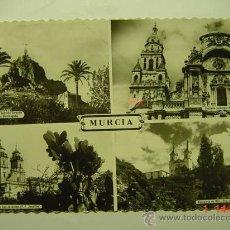Postales: 6211 MURCIA AÑOS 1950 MAS DE ESTA CIUDAD EN MI TIENDA COSAS&CURIOSAS. Lote 12321975