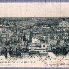 Postales: TARJETA POSTAL DE CARTAGENA, MURCIA. VISTA DESDE EL CASTILLO DE LA CONCEPCION. 1156 HAUSER Y MENET. Lote 16149571