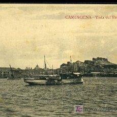 Postales: TARJETA POSTAL DE CARTAGENA. VISTA DEL PUERTO. ED. J. CASAU FOTOGRAFO. Lote 16149533