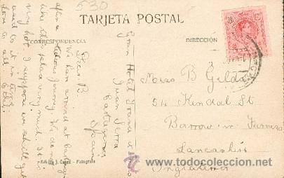 Postales: Cartagena – Casa Maestre y Banco de Cartagena – Edición J. Casau – Fotógrafo - Foto 2 - 24988634