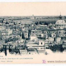 Postales: TARJETA POSTAL DE CARTAGENA. VISTA DESDE EL CASTILLO DE LA CONCEPCION. 1156 HAUSER Y MENET. Lote 16149580