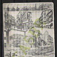 Cartes Postales: C1-59 TARJETA RADIOAFICIONADOS CARTAGENA - ESPAÑA EA5 BR A EA3 KU CON VIÑETA DE TRAFICO DE Q.S.L.. Lote 25489239