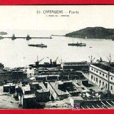 Postales: CARTAGENA, MURCIA, PUERTO, P30973. Lote 15374373