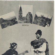 Postales: POSTAL TIPOS MURCIA, EDITOR J. ROIG . Lote 27089075