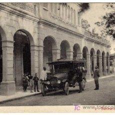 Postales: MAGNIFICA POSTAL - MURCIA - BALNEARIO DE FORTUNA (COCHE DE EPOCA). Lote 20603191
