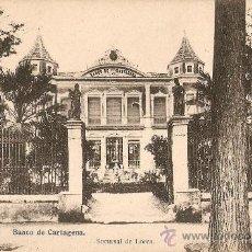 Postales: LORCA.MURCIA.BANCO DE CARTAGENA. Lote 25725121