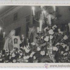 Postales: FOTO REAL TAMAÑO TARJETA POSTAL DE SEMANA SANTA SALZILLO SABANA SANTA MURCIA . Lote 26450184