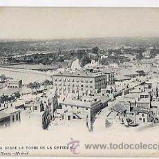 Postales: MURCIA. VISTA DESDE LA TORRE DE LA CATEDRAL. HAUSER Y MENET 1182. REVERSO SIN DIVIDIR. SIN CIRCULAR. Lote 17140665