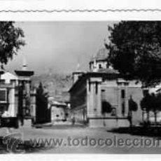 Postales: POSTAL LORCA ENTRADA A LA ALAMEDA DE LA VICTORIA CON EL CASTILLO AL FONDO. Lote 17627352