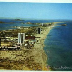 Postales: POSTAL LA MANGA DEL MAR MENOR ENTRE DOS MARES CARTAGENA. Lote 17723771