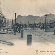 Postales: CARTAGENA.(MURCIA)-EL PUERTO. Lote 18736100