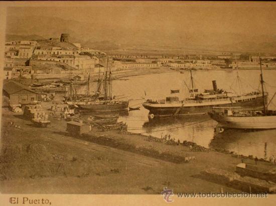 Postales: ANTIGUA POSTAL DE AGUILAS (MURCIA) EL PUERTO - SIN CIRCULAR - MUY RARA - Foto 2 - 176621712