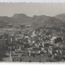 Postales: TARJETA POSTAL DE CARTAGENA VISTA PARCIAL AL FONDO LOS ASTILLEROS MURCIA. Lote 18868353