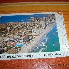Postales: POSTAL DE MURCIA, LA MANGA DEL MAR MENOR , HOTEL ENTREMARES, EDICIONES CATALÁN 1997 ESCRITA. Lote 19002896