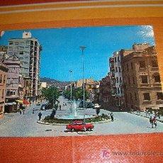 Postales: POSTAL DE CIEZA. FUENTE LUMINOSA Y PASEO MÁRTIRES . EDICIONES SANTA FE,1970 ESCRITA. Lote 19003558