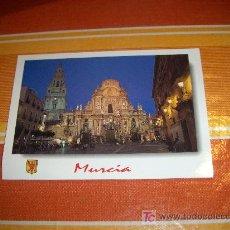 Postales: POSTAL DE MURCIA, LA CATEDRAL . EDICIONES ESCUDO DE ORO, SIN CIRCULAR. Lote 19004808