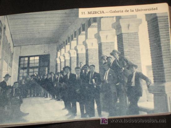 Postales: Carnet Recuerdo de Murcia, de 15 postales, completo. Edición Melero. En una se ve la librería Melero - Foto 3 - 23711072