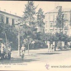 Postales: CARTAGENA (MURCIA).- PLAZA DE SAN FRANCISCO. Lote 19654066