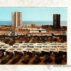 Postales: LA MANGA DEL MAR MENOR CARTAGENA VISTA PARCIAL Nº MURCIA 1970 CASAS AMERICANAS TORRES EDIFICIO. Lote 21091518