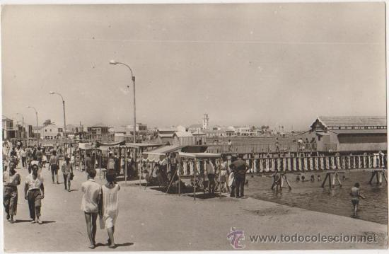 LOS ALCAZARES MAR MENOR,PASEO Y PLAYA DE MANZANARES,RAKER EDICIONES GALINDO-LOS ALCAZARES (Postales - España - Murcia Moderna (desde 1.940))