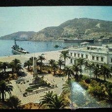 Cartes Postales: TARJETA POSTAL. CARTAGENA. MONUMENTO A LOS HÉROES DE CAVITE Y PUERTO. AÑOS 60.. Lote 21415350
