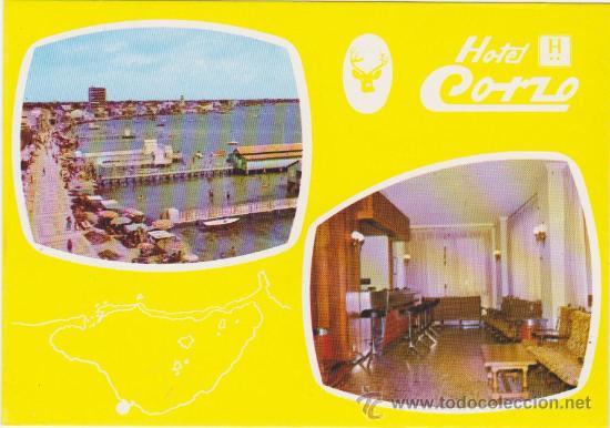 HOTEL CORZO-LOS ALCAZARES,TIP GALINDO PACHECO 1977 (Postales - España - Murcia Moderna (desde 1.940))