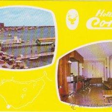 Postales: HOTEL CORZO-LOS ALCAZARES,TIP GALINDO PACHECO 1977. Lote 21578070