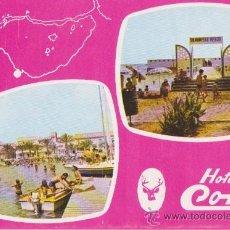 Postales: HOTEL CORZO-LOS ALCAZARES,TIP GALINDO PACHECO 1977. Lote 21578096