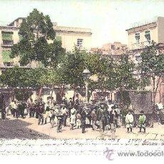 Postales: PS1391 CARTAGENA 'PLAZA DE RISUEÑO'. PURGER&CO. CIRCULADA EN 1907. Lote 23587564