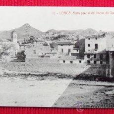 Postales: BARRIO SAN CRISTOBAL - LORCA - MURCIA. Lote 23731802