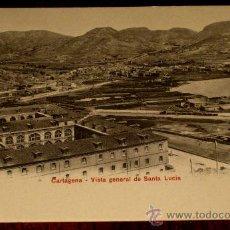 Postales: ANTIGUA POSTAL DE CARTAGENA - VISTA GENERAL DE SANTA LUCIA - ED. P.Z. 10584 - NO CIRCULADA.. Lote 24071123