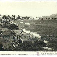 Postales: (PS-21283)POSTAL DE AGUILAS-PANORAMICA DE LA PLAYA DE LEVANTE. Lote 24553494