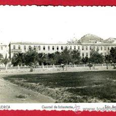Postales: LORCA , MURCIA , CUARTEL DE INFANTERIA , FOTOGRAFICA , P60745. Lote 26025285