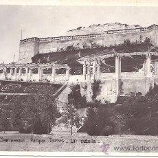 Postales: PS1253 CARTAGENA 'PARQUE TORRES - UN DETALLE'. UNIQUE. FOTOGRÁFICA. 1930. Lote 26659019