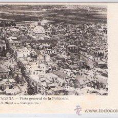 Postales: CARTAGENA- VISTA GENERAL DE LA POBLACION- ADOLFO FERNANDEZ- Nº1- ANTERIOR A 1904- (5866). Lote 26670328