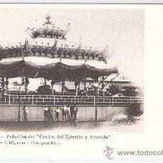 Postales: CARTAGENA-PABELLON DEL CENTRO DEL EJERCITO Y ARMADA- ADOLFO FERNANDEZ- Nº9- ANTERIOR A 1904- (5876). Lote 26670600