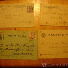 Postales: TARJETAS POSTALES CARTAGENA. Lote 27343015