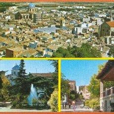 Postales: YECLA - MURCIA - VISTAS DE LA CIUDAD - Nº 19 EXCL. TIPOGRAFIA NARSIO . Lote 27378227
