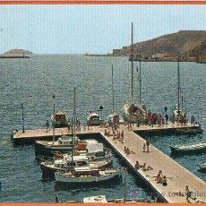 Postales: CARTAGENA - BOCANA DEL PUERTO CON LOS DOS FAROS - Nº 114 A. SUBIRATS. Lote 27516025