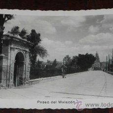 Postales: ANTIGUA FOTO POSTAL DE MURCIA - PASEO DEL MALECON - N. 69 - ED. ARRIBAS - CIRCULADA.. Lote 27775026