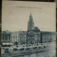 Postales: MURCIA - PASEO DEL ARENAL . Lote 27809715