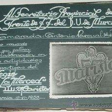 Postales: ANTIGUO ALBUM DEL COLEGIO MARISTA LA MERCED - MURCIA - ALBUM REALIZADO PARA ANTONIO PASQUAL DE RIQUE. Lote 27953345
