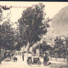 Postales: CIEZA (MURCIA).- CAMINO DE CALASPARRA. Lote 28178141